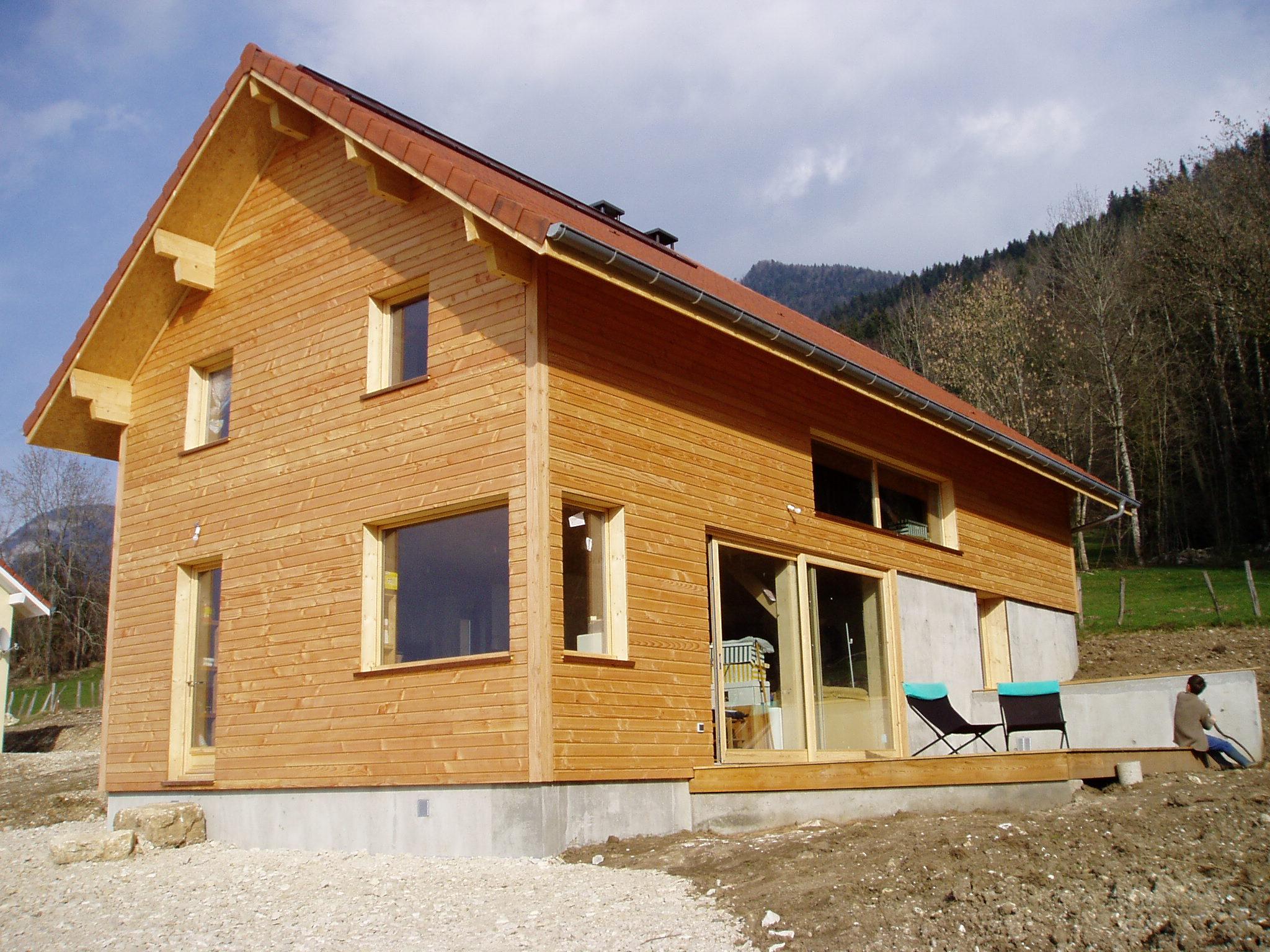 Maison ossature bois, Bois de Chartreuse