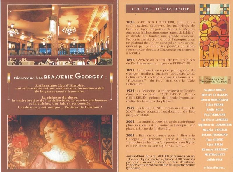 Brasserie Georges   Lyon 2e   Bois de Chartreuse
