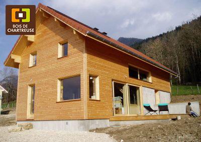 Maison en structure poteau-poutre