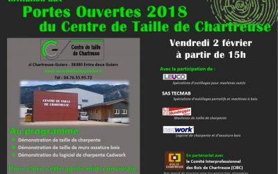 Portes ouvertes au Centre de Taille de Chartreuse